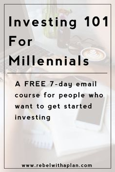 Are you confused about the world of investing and want to learn more? Enroll in my free 7-day Investing 101 For Millennials email course. via @colinjashby