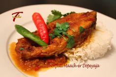 Bengali Fish Curry - Shorputi Maacher Dopeyaja