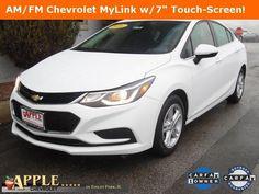 2016 Chevrolet Cruze LT - Certified - Stk # 61185 - $15,777 - http://www.applechevy.com/VehicleDetails/certified-2016-Chevrolet-Cruze-Sedan_LT_%28Automatic%29-Tinley_Park-IL/2920007613