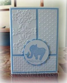 """Elephant is from the """"Animal Stories"""" stamp set"""