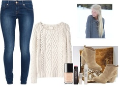 """Cold Winter"" by kyliecraig ❤ liked on Polyvore"