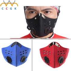 Anti-dust bicycle activated carbon mask windproof waterproof and dustproofhalf face mask filter bike cycling motocycle mask  #Affiliate