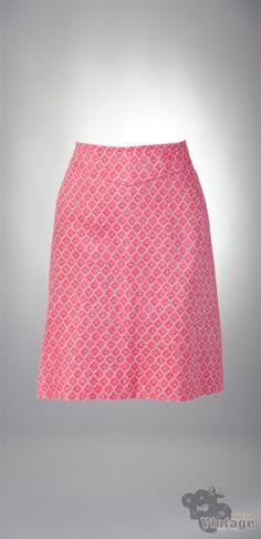 Vintage 70´s diamond mini retro skirt
