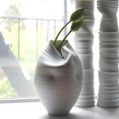 Fancy | Casper Vase #10 by WrenLabs Ceramics