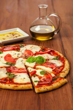 Fresh Mozzarella Margherita Pizza - Traditional, simple, and tasty. #freshinspirations