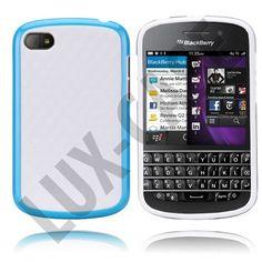 """Søkeresultat for: """"edgewhite hvit blackberry deksel"""" Blackberry Q10, Kit, Phone, Blue, Telephone, Mobile Phones"""