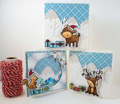 JenniferD's Blog: The Rubber Buggy - Cheery Christmas