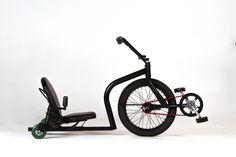 Lancé sous le nom d'Onda Cycle, ce vélo couché fun de Tyler Hadzicki et son père est désormais commercialisé sous le nom de Leaux Racing Trike.