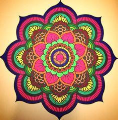 Pin de dilli babu em designs 2 мандалы, узоры e раскраски Mandalas Painting, Mandalas Drawing, Dot Painting, Mandala Design, Coloring Books, Coloring Pages, Hamsa Art, Colorful Rangoli Designs, Design Floral