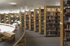 library stacks   67% of All Libraries Now Carry eBooks