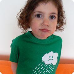grumpy raincloud t-shirt by teeandtoast.com