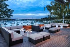 See Harbor Club at Prime, a beautiful Long Island wedding venue. Find prices, detailed info, and photos for New York wedding reception locations. New York Wedding Venues, Wedding Reception Locations, Affordable Wedding Venues, Outdoor Wedding Venues, Outdoor Ceremony, Rooftop Lounge, Reception Seating, Outdoor Furniture Sets, Outdoor Decor