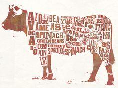 Waitrose    Waitrose Magazine    Editorial letter press illustration for Waitrose in-store Food Magazine.