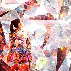 "Visitors to Vivid Sydney can enjoy the ""kaleidoscopic origami"" dome created by Japanese artists Masakazu Shirane and Saya Miyazaki and New Zealander Reuben Young."