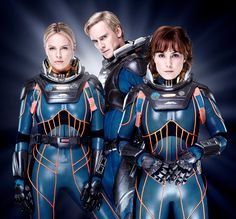 Photographer Ian Derry posted this selection of Prometheus promotional photos on his website, featuring Noomi Rapace, Michael Fassbender and Charlize Theron as Shaw, David and Vickers. Charlize Theron, Alien Film, Noomi Rapace, Alien Covenant, Aliens Movie, Space Girl, Space Space, Kino Film, Alien Vs Predator