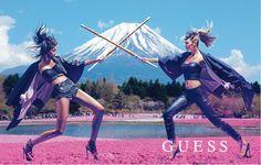 画像: 1/11【GUESS新広告は日本が舞台 伝統的モチーフを取り入れ東西文化を融合】