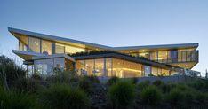 Esta casa moderna situada en Los Ángeles es una creación arquitectónica de…