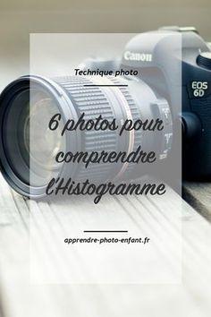 L'histogramme est l'outil principal nous permettant de connaître l'exposition et le contraste d'une photo. Cliquez ici pour le comprendre avec 6 Photos. Blog Apprendre la photo d'enfant. #blog #blogging #conseils #astuces #photographie #photo #photographer #photography #technique