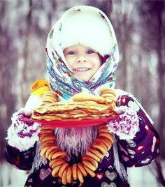 Russian beautiful little girl