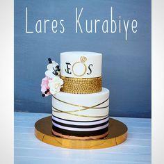 Ersen💍Sedat çifti'nin nişan pastası ✌💞 Tebrikler 😍😘