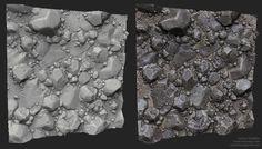 ZBrush Rock Studies