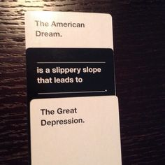 18 Cards Against Humanity Combos That Will Make You Think Twice Stupid Funny Memes, Wtf Funny, Funny Relatable Memes, Funny Posts, Funny Quotes, Hilarious, Funny Sarcasm, Humor Quotes, Funny Pictures With Words