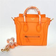 cheap replica celine handbags - bagagli di Celine tote borse Outlet olio borsa pelle curata giallo ...