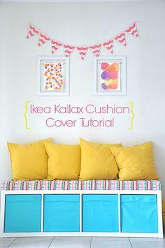 So machst du aus deinem Ikea Kallax Regal eine coole Sitzbank|Ikea Hacks & Pimps|BLOG| New Swedish Design