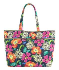 Vera Bradley Jazzy Blooms Grand Tote. This tote comes in handy for sports, park, and adventure outings!