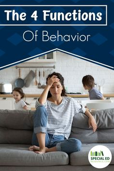 Are you fed up with your child misbehaving at home and at school? Not sure what to do about their defiant behavior? You can't manage your child's behavior without knowing why your child is acting out. There are 4 functions of behavior and knowing them will help. Learn what they are and how they work. And How ABA (Applied Behavior Analysis) actually can make a difference in your child's life.  Also, what's a BCBA's (Board Certified Behavior Analyst) role in ABA therapy? #behaviormanagement