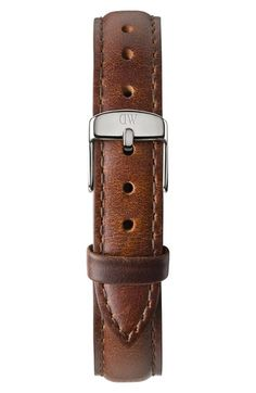Daniel Wellington 'Classy St. Mawes' Crystal Index Leather Strap Watch, 26mm available at #Nordstrom