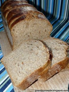 GRUNT TO PRZEPIS!: Chleb pszenno-żytni z maślanką Easy Blueberry Muffins, Blue Berry Muffins, Bread Rolls, Bread Recipes, Bakery, Pizza, Eat, Cooking, Breads