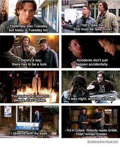 supernatural funny meme | Supernatural logic | Random Overload