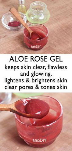 ALOE ROSE SKIN SOOTHING GEL – Little DIY How To Stop Pimples, Natural Beauty Tips, Natural Hair Styles, Diy Beauty, Beauty Hacks, Skin Care Tips, Face Care Tips, Organic Skin Care, Natural Skin Care