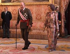 Juan Carlos was notably absent from an event marking 40 years since the first democratic elections after Francisco Franco's dictatorship. That, according to Felipe VI's biographer, angered and hurt him