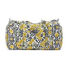 887af6138db7 Vera Bradley Go Wild Large Duffel Duffle Bag - OneLittleBox.com