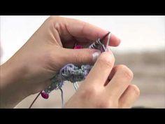 ▶ Lavora a maglia con Emma Fassio - Scialle - Parte 3 - YouTube