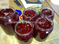 Cypriot Food, Greek Cooking, Marmalade, Sweet Recipes, Salsa, Food And Drink, Jar, Sweets, Baking