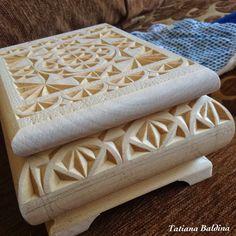 FancyChip - Tatiana Baldina: Carved box #2 (design, WIP pictures)
