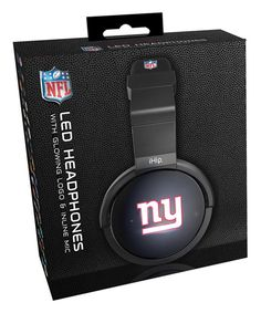 Look at this New York Giants Light-Up Logo Headphones on #zulily today!