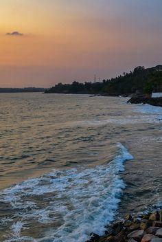 Waves - @Overbury's Folly , Thalassery , Kerala