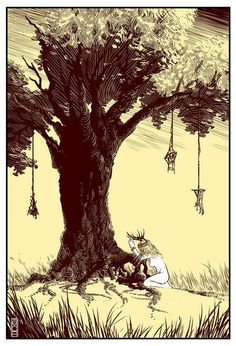 johna mor Illustration : True Detective
