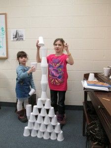 Day A giant staircase to heaven (tower of babel) Tower of Babel: Building a Cup Tower - 7 C's of History badge Bible Activities For Kids, Preschool Bible, Bible Lessons For Kids, Church Activities, Bible For Kids, Sunday School Projects, Sunday School Activities, Sunday School Lessons, School Fun