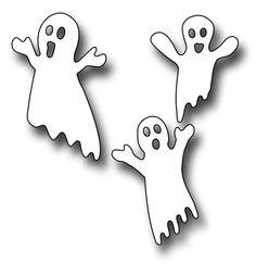 Frantic Stamper Precision Die - Ghost Trio,$5.99