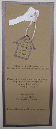 We love this #housewarming #party #invitation. What do you think?