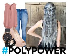 """""""#PolyPower"""" by one-direction-lover-4ever ❤ liked on Polyvore featuring City Chic, H&M, Jessica Simpson, Marc Jacobs, First People First and PolyPower"""