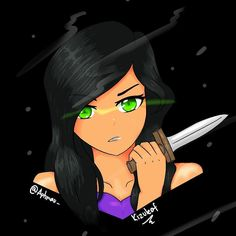 """141 Likes, 18 Comments - the place for my freakin arts (@kizuleaf_) on Instagram: """"(took freakin 22 layers just for this drawing! XD) Here have Aphmau from season 4 drawing! I'm…"""""""