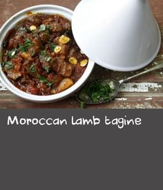 This authentic tagine recipe will take you to slow-cooked perfection in six simple steps – just kick back with a glass of wine until it's ready. Slaw Recipes, Crockpot Recipes, Cooking Recipes, Simple Slaw Recipe, Moroccan Lamb Tagine, Tagine Recipes, Rack Of Lamb, Dried Apricots, Looks Yummy
