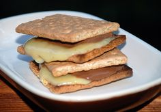 Tillamook Cheese and Chocolate S'mores...would you try these!?! #SweetANDSalty #TestKitchen #Summer