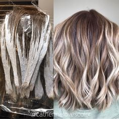 "3,715 Likes, 29 Comments - Michigan Balayage Artist (@catherinelovescolor) on Instagram: ""✨Cinnamon & Sugar Swirls✨ @oligopro blacklight clay lightener with a dash of cool Tone! 40 vol…"""